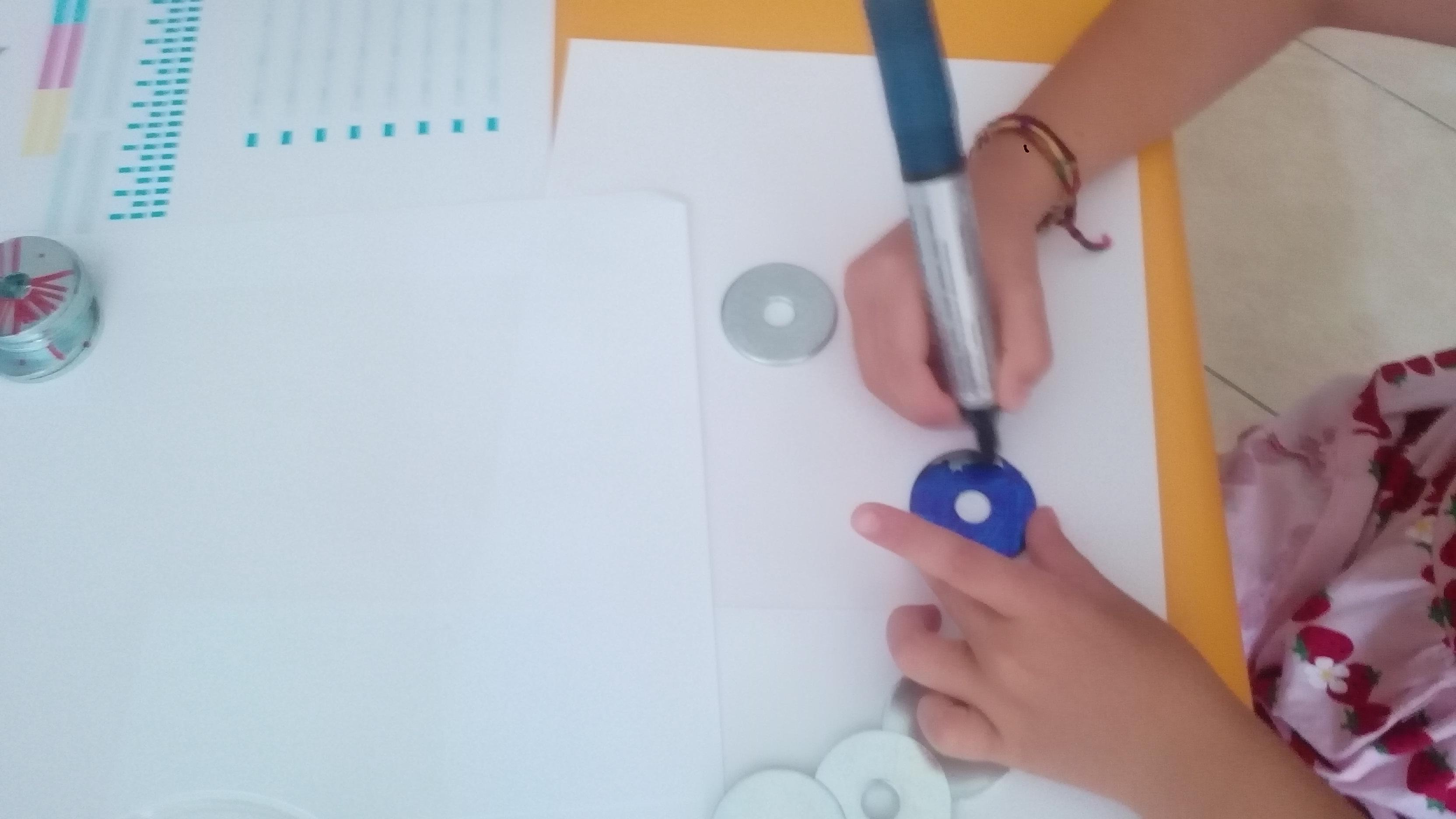 Colorazione rondelle