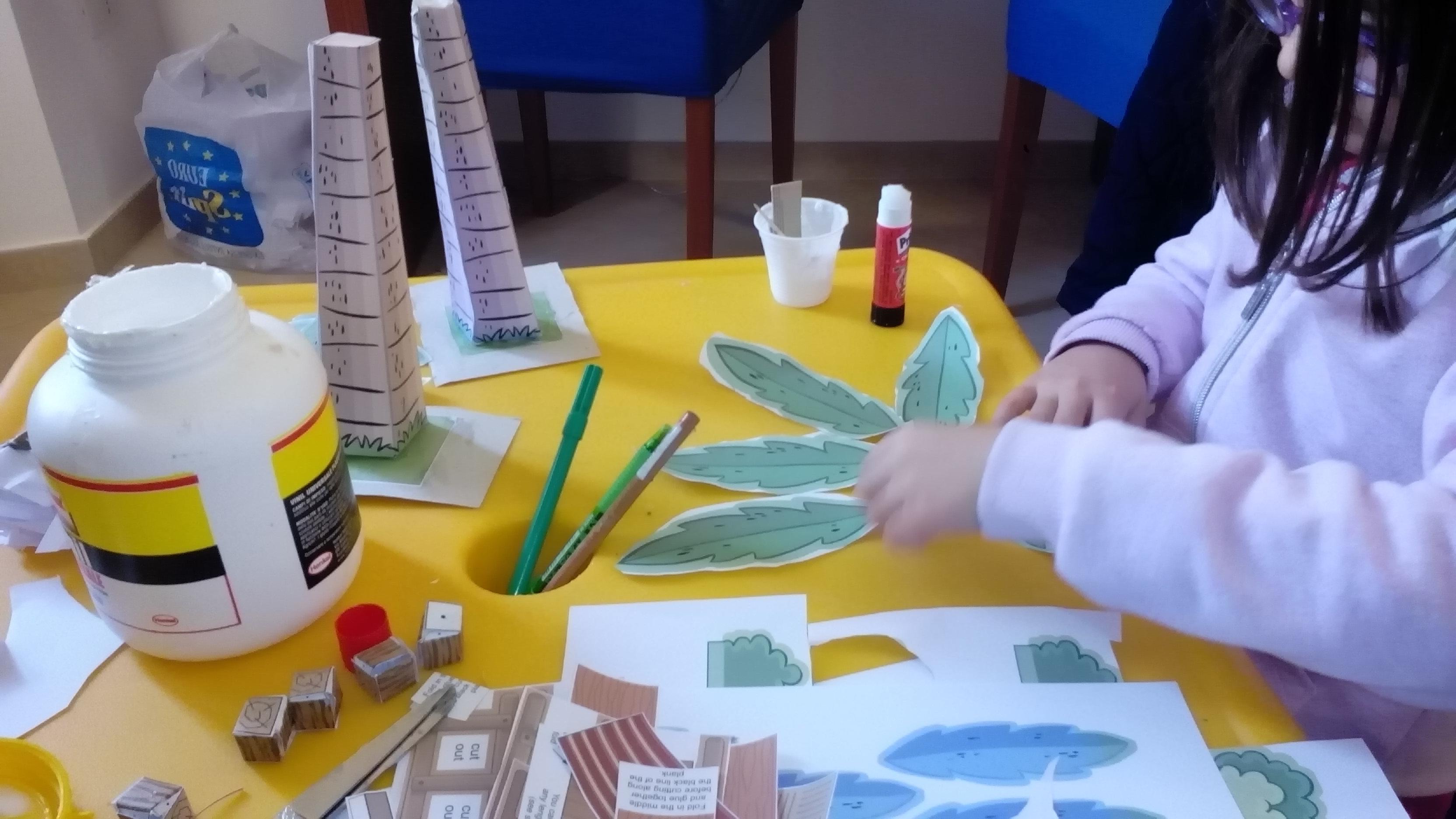 costruzione palme