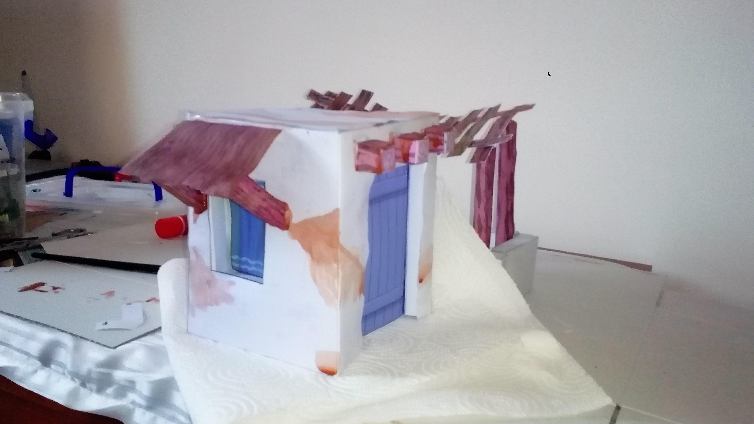 test colorazione casa