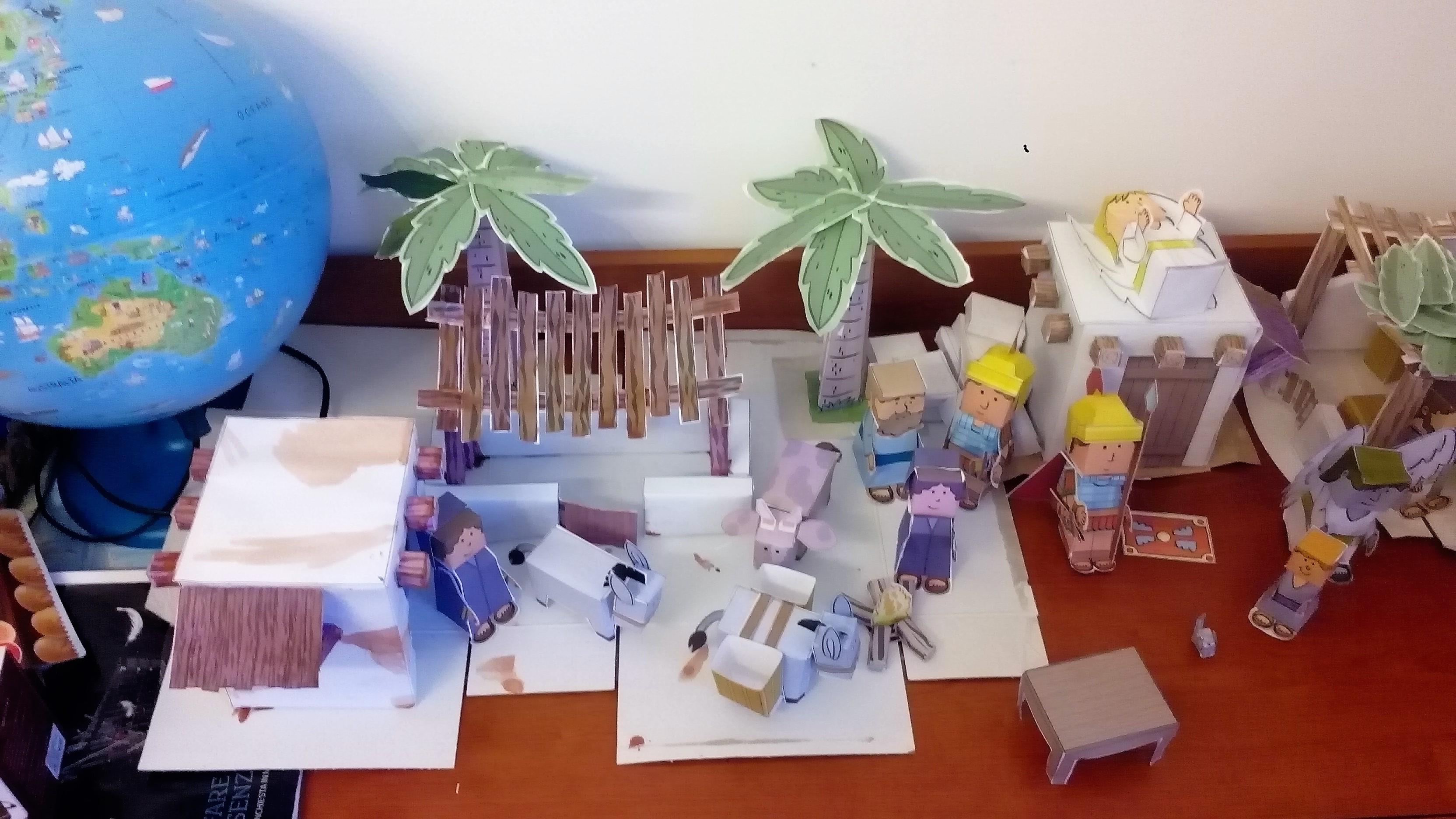 panoramica case e personaggi